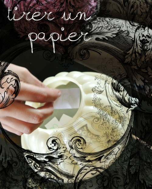 3 - tirer un papier
